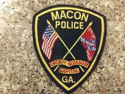 Macon Georgia Police Patch