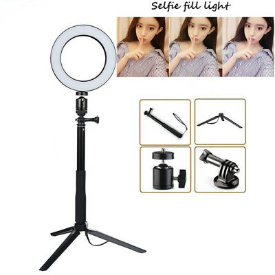 26CM Selfie Led Ring Light Photography Photo Camera Studio with Stand Adjustable