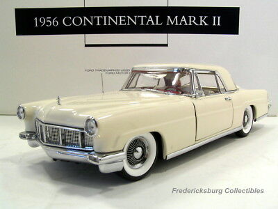 Franklin Mint 1956 Lincoln Continental Mark Ii-White Nmbrd Limited Edition -Mint