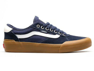 Vans shoes Chima Pro 2 NAVY / GUM / WHITE USA SIZE Skateboard Sneakers