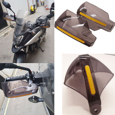 "2PCS 7/8"" Motorcycle Hand Guard Handguards Protector Wind Deflectors For Honda"