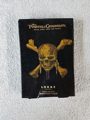 LORAC Cheek Palette Limited Edition Pirates of the Caribbean 6 Shades New in Box