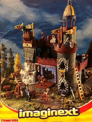 Imaginext Knight Battle Castle with Enemy Dungeon, Medieval 4-10 yrs Model 78333