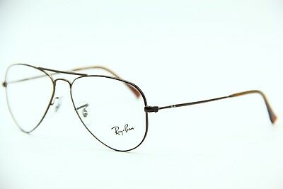 8f6311bf3867 New Ray-Ban Rb 6049 2758 Brown Eyeglasses Authentic Frame Rx Rb6049 52-14