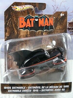 Hot Wheels 1940s Batman Batmobile Based on Detective Comics 1:50 Scale 2011