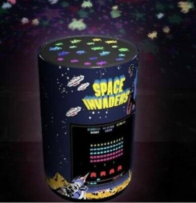 Space Invaders Projection Light NEW