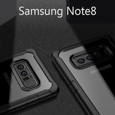 For Samsung Galaxy Note 8 S8 S8 Plus Mosafe® Shockproof Bumper Case Clear Cover