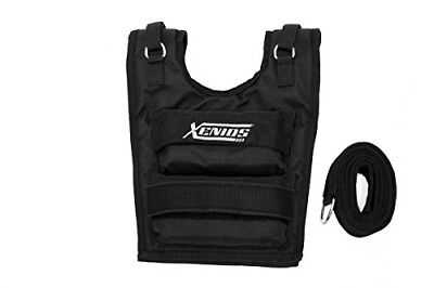 Xenios USA-Weighted Vest Short Adjustable Nylon up to 3 Lbs (16 kg)-VSWGSVT01