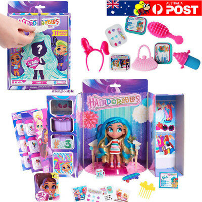 Hairdorables Doll Figure Boneca Funny Toys Kids Christmas Gifts Surprise Doll AU