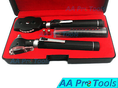 Otoscope Ophthalmoscope Fiber Optic Examination Led ENT, Diagnostic, Medical Set
