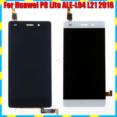 Per Huawei P8 Lite ALE-L21 2016 Vetro Display LCD Touch Screen Digitizer