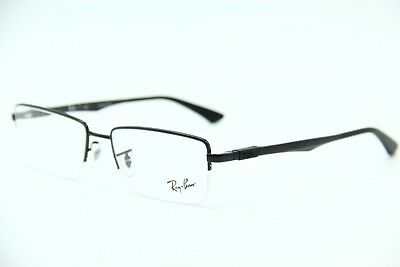 99dfdfad12a59 New Ray-Ban Rb 6263 2509 Black Eyeglasses Authentic Frame Rx Rb6263 54-17