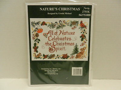 """Imaginating Counted Cross Stitch """"Natures Christmas"""""""