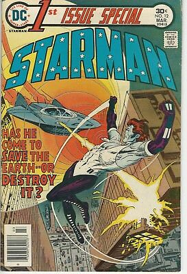 DC Comics First Issue Special Vol 1 (1975 Series) # 12 FN Starman