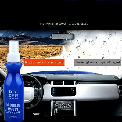 Car Front Windshield Anti-Rain Agent Rear-View Mirror Repellent Agent 100mL