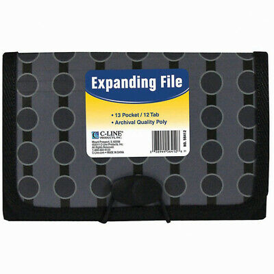 13-Pocket Coupon Expanding File-Circles