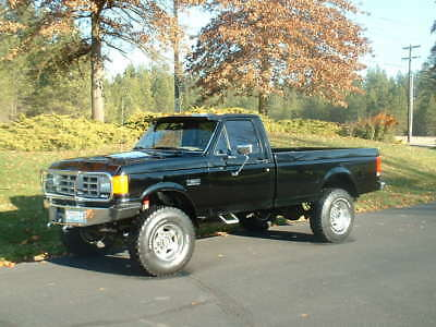 1988 Ford F-350 6,637 ACTUAL MILES 1988 Ford F 350 SHOW TRUCK! 6,637 Actual Miles!! Black Beauty! 460V8! LIKE NEW!!