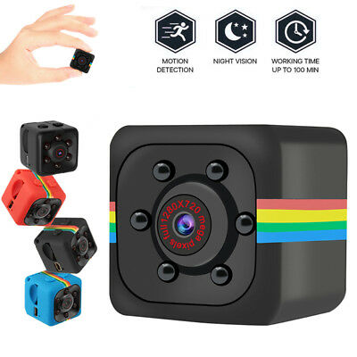 Spy Hidden Camera 720P Portable Cube Camera Mini Security Camera Night Vision