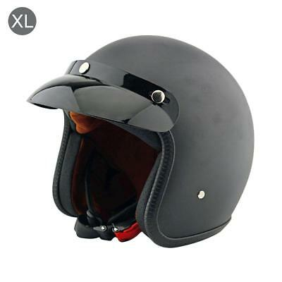Adult Safety Cycling Motorcycle Head Protector Helmet Open Face Caps Hat