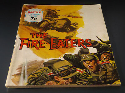 BATTLE PICTURE LIBRARY NO 840,dated 1974!,V GOOD FOR AGE,VERY RARE,44 yrs old.
