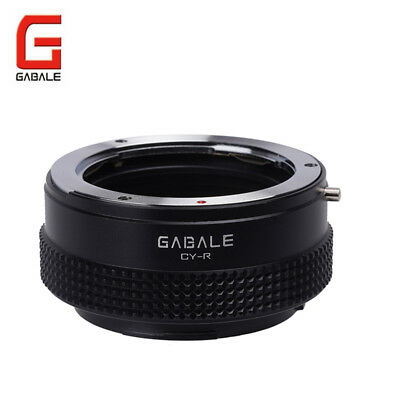 GABALE adapter for Contax/Yashica CY mount Lens to Canon EOS R RF mount camera