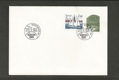 SWEDEN - 1983 Norden     - FIRST DAY COVER
