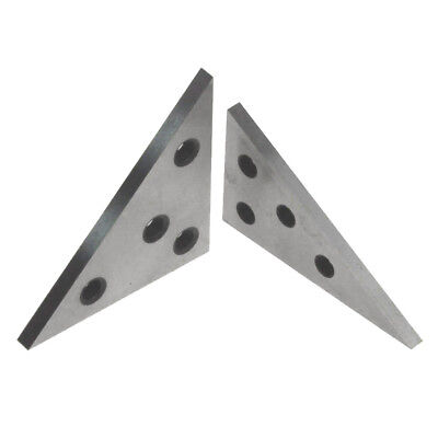 2Pcs/Set High Precision Angle block with 45/45/90 degree and 30/60/90 degree