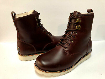 f3eb11655fe UGG HANNEN TL Men Boots Leather Cordovan Us 10 /uk 9 /eu 43 ...