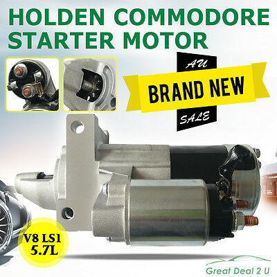5.7L V8 GEN3 Starter Motor to Fit Holden Commodore (LS1) VT VX VY VZ 1999 - 2004