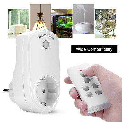 US Plug Remote Control Outlet Power Saving Wireless Outlet for Home Appliances