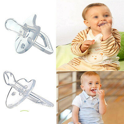 Silicone Nipple Soother Pacifier Baby Infant Orthodontic Dummy Teether BPA