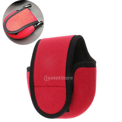 Soft Fishing Reel Protective Case Cover Bag for Baitcasting Low Profile Reel