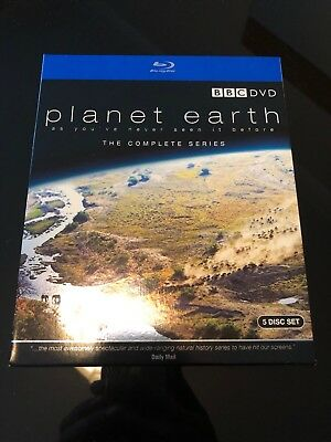 David Attenborough: PLANET EARTH - The Complete Series Blu-ray (2007) Near Mint.