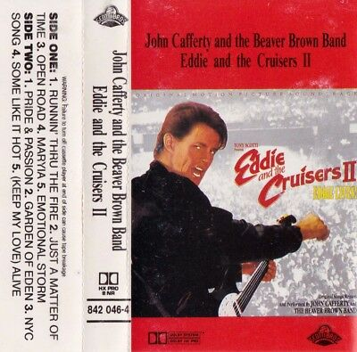 EDDIE and THE CRUISERS II Motion Picture Soundtrack - Cassette - Tape   SirH70