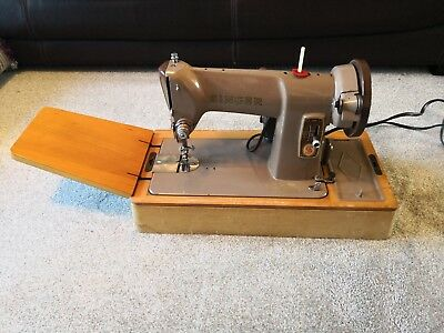 SINGER 185k Heavy Duty Semi Industrial Sewing Machine with Case Working Pedal
