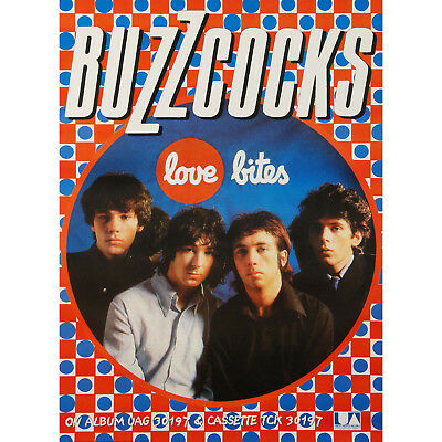 0703 Vintage Music Poster Art - The Buzzcocks