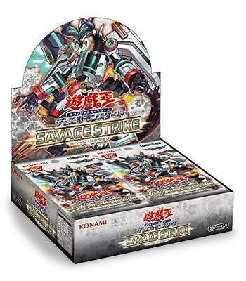 Konami YuGiOh VRAINS OCG Savage Strike Booster BOX CG1599