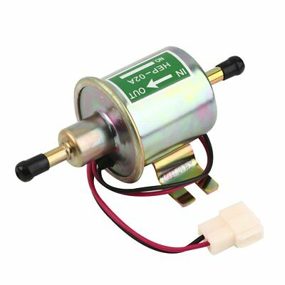 Gas Diesel Inline Low Pressure Electric Fuel Pump 12V HEP02A HEP-02A 2 ZY