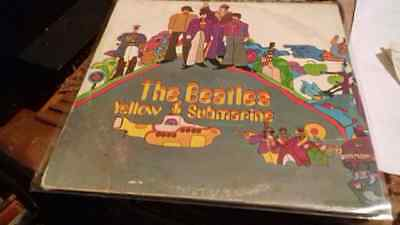 lp n74 THE BEATLES YELLOW SUBMARINE BRAZILIAN PRESSING