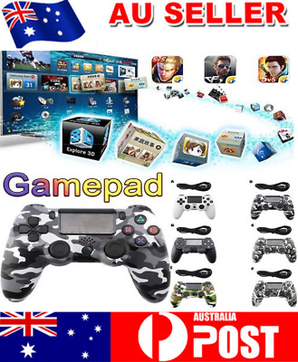 Wired DualShock CE Game FCC-ID Controllers Gamepad PS4 for Sony PlayStation 4