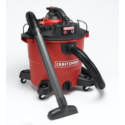New Craftsman 16 gal. 6.5 HP Wet/Dry Vac Set with Detachable Blower