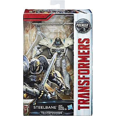 Transformers 5 The Last Knight 2017 STEELBANE Premier Deluxe TLK New & Sealed