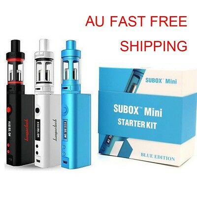 Genuine Kanger Subox Mini Starter Kit 50W V W Mod Vape-Box Full Set Gifts AU Stk