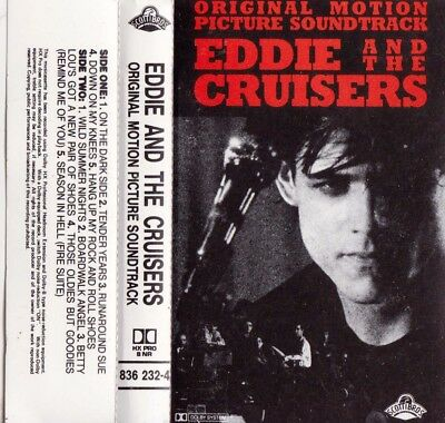 EDDIE and THE CRUISERS Motion Picture Soundtrack - Cassette - Tape   SirH70