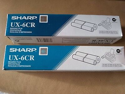 Sharp Ux-6Cr Fax Imaging Film, Genuine, Quantity Of Two