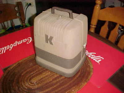 Vintage Keystone K100 8mm Film Movie Projector Works Made in the USA!
