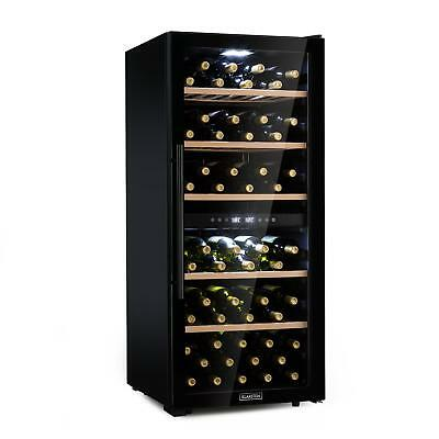 Wine Fridge Refrigerator Drinks cooler chiller 102 bottles Energy A Black