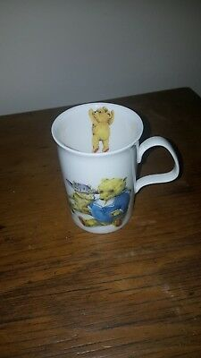 ORIGINAL ROY KIRKHAM FINE BONE CHINA MUG c 1992 by Karen buckley