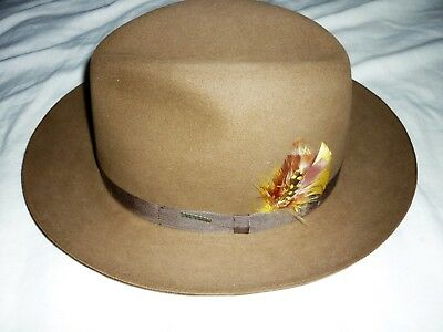STETSON panama Vintage Royal Deluxe men's hat in stetson box