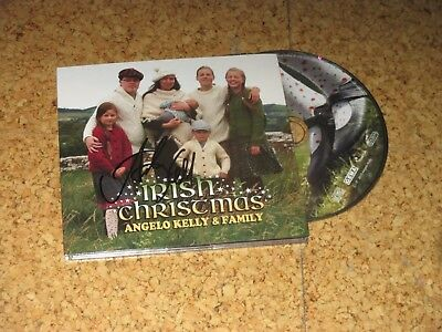 Irish Christmas ANGELO KELLY & FAMILY CD handsigniert ANGELO KELLY Weihnachts-CD